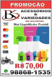 Mini Liquidificador Portátil - Recarregável-Aceitamos Cartão de Crédito!!!!