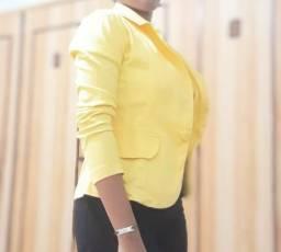 Blazer Amarelo M