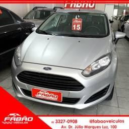 (FABÃO VEÍCULOS) New Fiesta 1.5 S 2015 - 2015