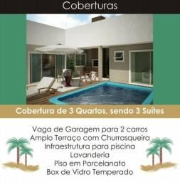 Cobertura em Caiobá, Matinhos, 3 Quartos Suítes, R$ 690 mil Ref-313