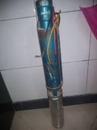 Motor bomba para poço submersa 1cv trifásico