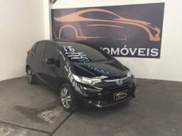 Honda-Fit ex Aut+b.couro+midia Financiamos sem comprovação de renda