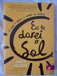 """Livro """"Eu te darei o sol"""" em ótimo estado"""