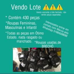 Lote Brechó fechado