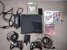 Xbox 360 destravado com 500GB