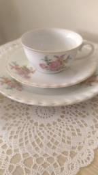 Xícara chá porcelana Paraná