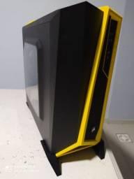 Gabinete Spec Alpha Preto/Amarelo contato pelo whats