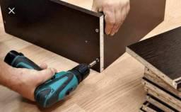Montamos móveis e desmontagem