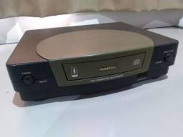 Videogame antigo Panasonic 3do Goldstar, só tem o console