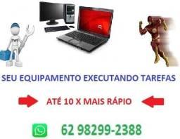 10 X + Rápido PC / Notebook Técnico Informatica Assistência