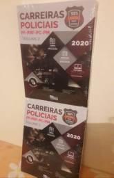 Combo Carreiras Policiais 2020, 100% atualizado, Teoria e questões (Grátis Videoaulas)