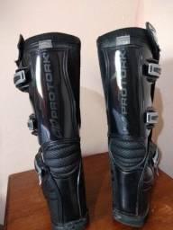 Bota de motocross protork