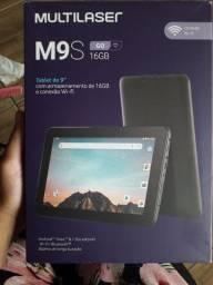 Tablet M9S Novo na Caixa