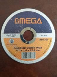 DISCO DE CORTE/ INOX 4.1/2 - $1,50