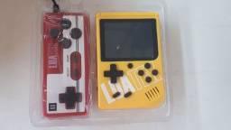 Mini Game Boy Portátil Retro Com 400 Jogos Super Console + Controle