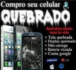 C0mpr0* celular quebrado.