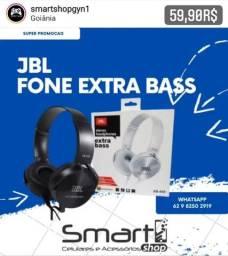 JBL Fone Extra Bass Otimo para Jogos Mobile e Musicas