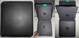 Case (pasta) Laser Line, com capacidade para 12 CDs (Seminova)