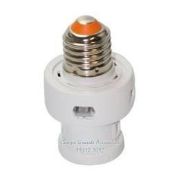 Soquete E27 Com Sensor Fotocélula Automático Microcontrolado