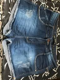 Vendo short jeans tamanho 40