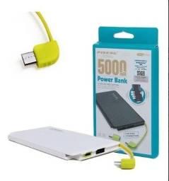 Carregador Portátil Bateria Externa P/ Smartphone 5000mah Original *