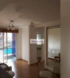 Apartamento com 2 dormitórios para alugar, 62 m² por R$ 2.900,00/mês - Ipiranga - São Paul