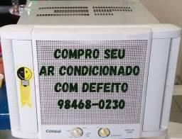 AR/CONDICIONADO COM DEFEITO
