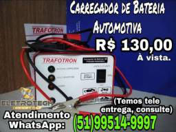Carregador de bateria automotiva 12v. bivolt