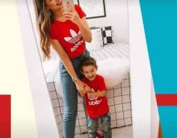 Camisetas tal mãe/pai tal filha (o)