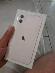 Iphone 11 branco novo