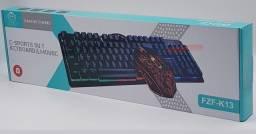 Gamer Linha Kit Teclado e Mouse
