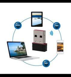Adaptador Wi-Fi USB Conecta-se a internet sem cabo