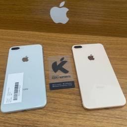 IPhone 8 Plus de Vitrine: Prata e Dourado! Muito novo!