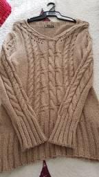 Blusão de lã GG