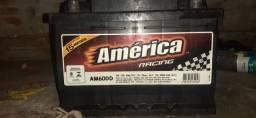 Bateria   america      usada   pouco  tempo