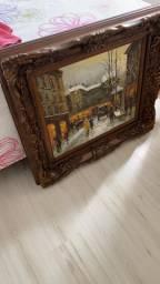 Quadro madeira clássico