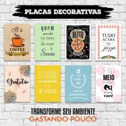 Placas decorativas - Melhor Preço
