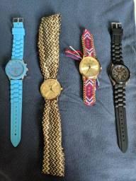 Relógio Geneva qualquer modelo