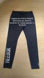 Legging Reebok de inverno (peluciada por dentro)