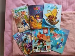 Livros em quadrinhos Disney capa dura