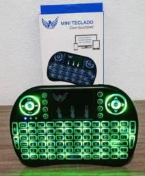 Mini teclado touch bluetooth original com frete grátis e garantia.
