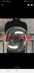 Kit com 10 balões bubble