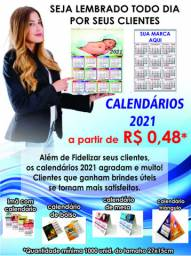 Calendários 2021