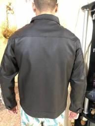 Jaqueta couro ecológico veste M ou G