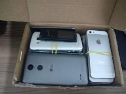 Lote de celulares várias modelos