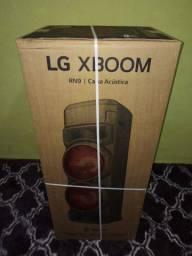 Som LG xboom rn9 zero na caixa aceita troca
