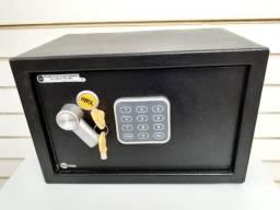 Cofre eletrônico reforçado excelente chave ou senha