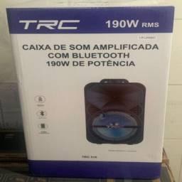 Caixa De Som Amplificada Trc 516 Bluetooth - 190 whats