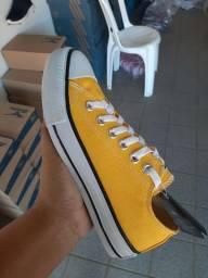 All star amarelo 35 ao 38 disponível