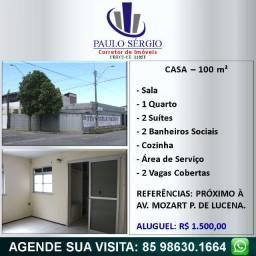 Vila Velha - Casa com 3 Quartos - 2 Vagas na Garagem